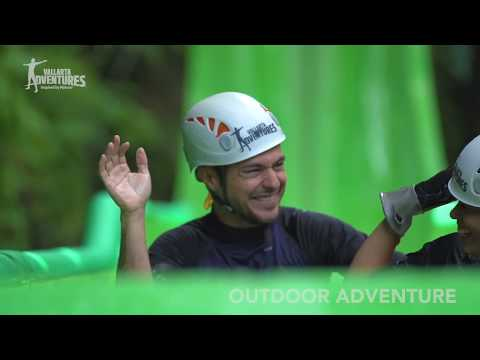 Ultimate Outdoor Adventure Waterfalls, Zipline & Waterslides - Video