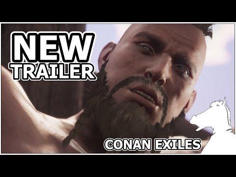 NEW TRAILER   CONAN EXILES