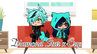 For those who ship Crys and Diamond Star! | The Daily Doings of The Weird Squad | Gacha Life