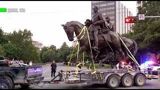 В Далласе демонтировали памятник герою Конфедерации генералу Ли