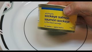 Radiation Levels  in Pacific Sockeye Salmon canned in USA