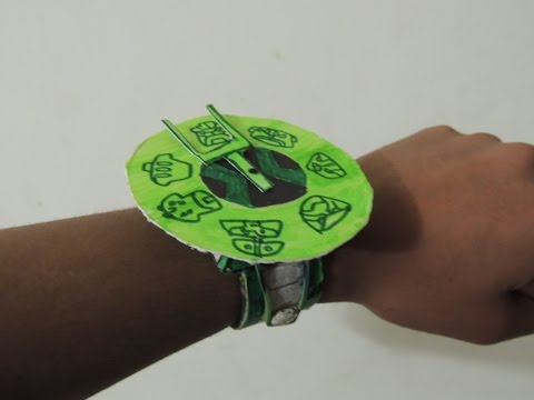 *Updated* The Alien Ring Interface (Ben 10 Omniverse paper Omnitrix )