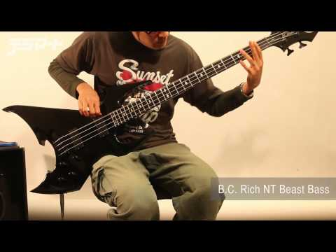 【デジマートNew Gear Showcase】B.C. Rich NT Beast Bass