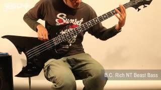 【デジマートNew Gear Showcase】B.C. Rich NT Beast Bass