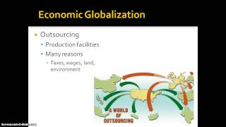 Economic Globalization