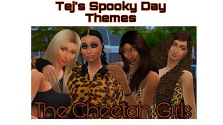 {Tej's Spooky Day Series} The Sims 4: CAS The Cheetah Girls Theme + CC Links