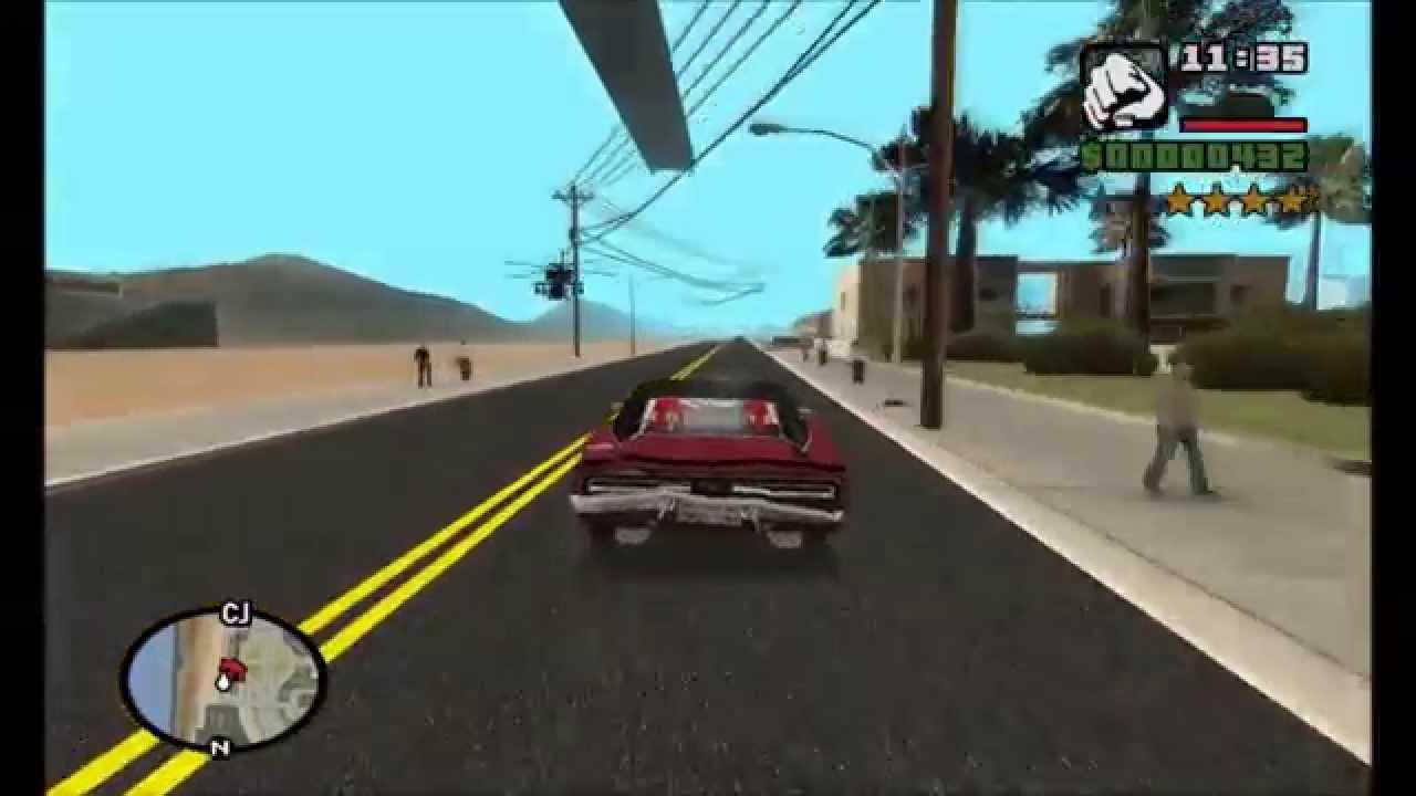 Gta san andreas real v2 gameplay + download link (720p) hd! Youtube.
