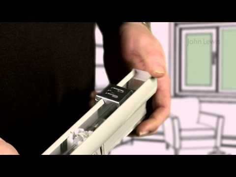 How to measure up and fit a Venetian blind