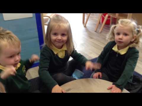 Nursery singing Jay Jay Coolay