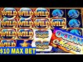 Ocean MAGIC Slot Machine $10 Bet Bonuses & BIG WINS | 1st Time I  Got a Bonus On Ocean MAGIC Slot