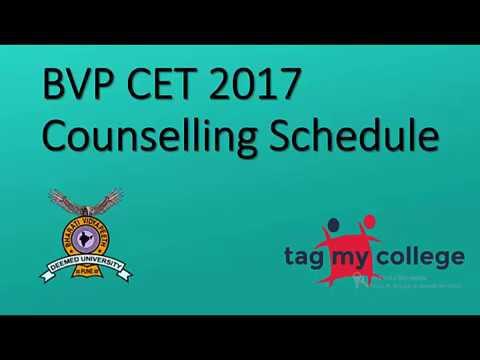 BVP CET 2017 Counselling | BVP CET 2017 | Tagmycollege.com