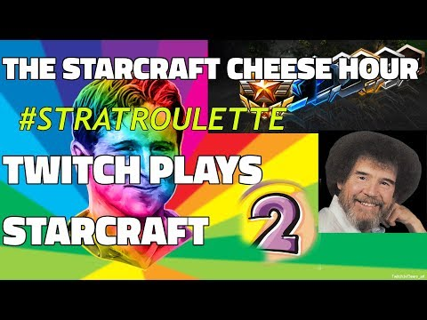 The Starcraft Cheese Hour Vol. 13 - Twitch Plays Starcraft! #2