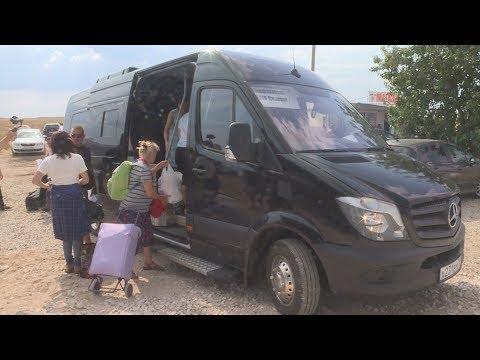 Из Симферополя до границы запущен рейсовый автобус