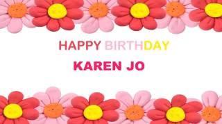 KarenJo   Birthday Postcards & Postales8 - Happy Birthday