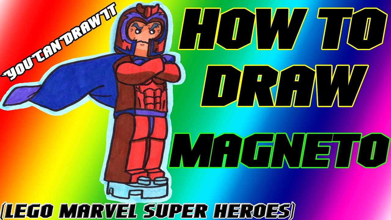 lego magneto coloring pages - photo#15