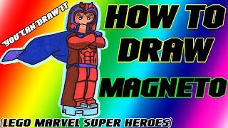 How To Draw Magneto from Lego Marvel Super Heroes ✎ YouCanDrawIt ツ 1080p HD