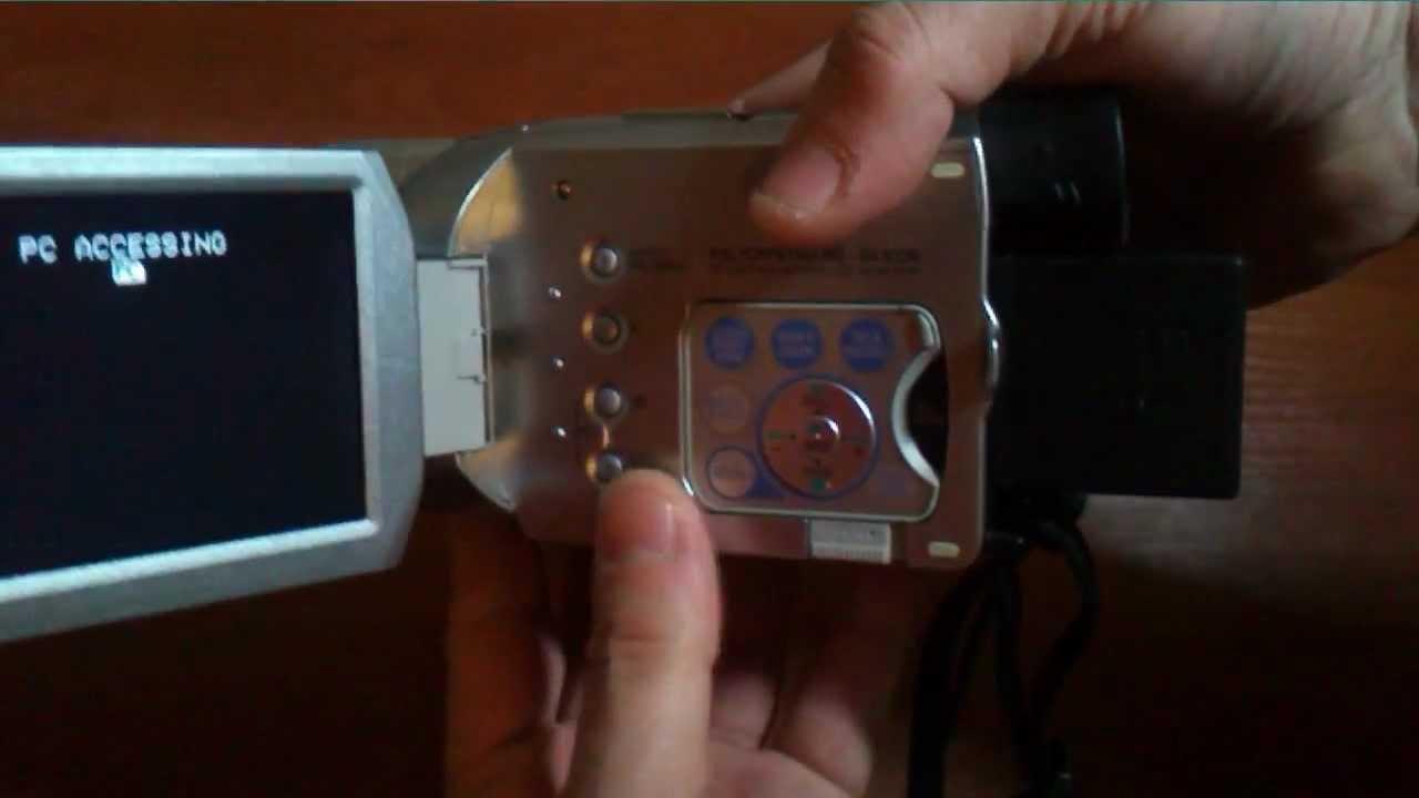 Пробег магнитной головки в видеокамере Panasonic NV GS400