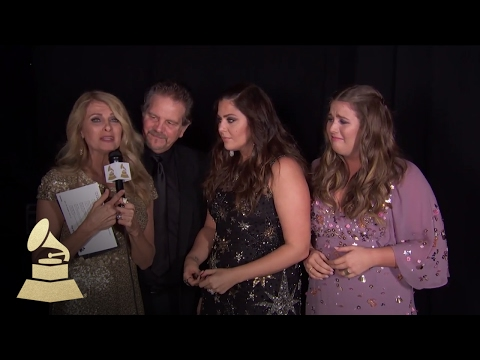 Hillary Scott & The Scott Family's Emotional Win | Backstage | 59th GRAMMYs