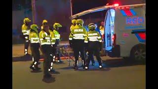 ¡Cobarde! Atropelló brutalmente a patrullera que controlaba piques ilegales en Bogotá