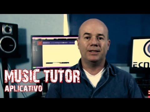 Music Tutor aplicativo por Armando Leite