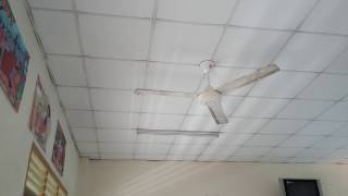 2 National Industrial ceiling fans