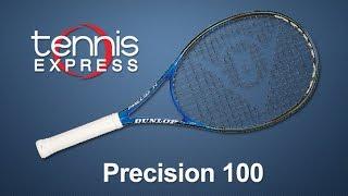 DUNLOP Precision 100 Tennis Racquet Review | Tennis Express