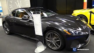 2019 Maserati GranTurismo Sport - Exterior Walkaround - 2019 Montreal Auto Show