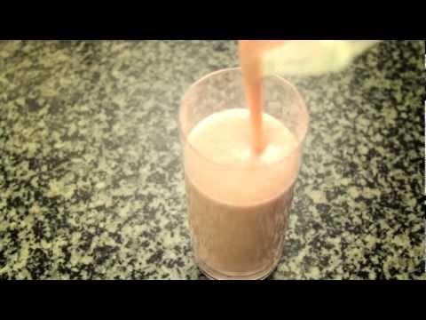 Batido de fresa y papaya // Strawberry and Papaya Smothie