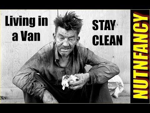 Living in a Van and Liking It: Hygiene and Sleep!