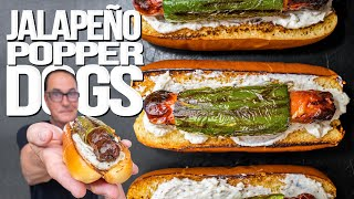 JALAPEÑO POPPER DOGS (MY NEW FAVORITE HOT DOG?)  SAM THE COOKING GUY