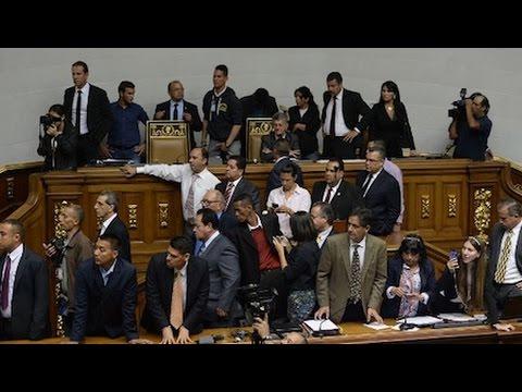 Venezuelan Opposition Seeks Legislative Coup