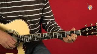 6.1 Auf der Mauer, auf der Lauer • Guitar-TV Gitarre lernen ohne Noten