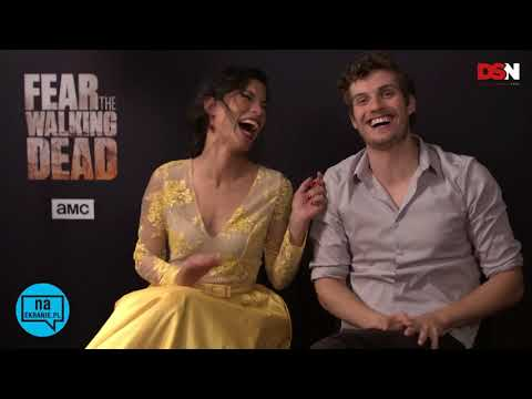(LEGENDADO) Daniel Sharman e Danay Garcia para Naekrania pl | Fear The Walking Dead
