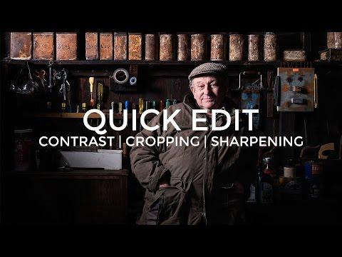 QUICK EDIT: Photoshop Edit of Farmer Robert