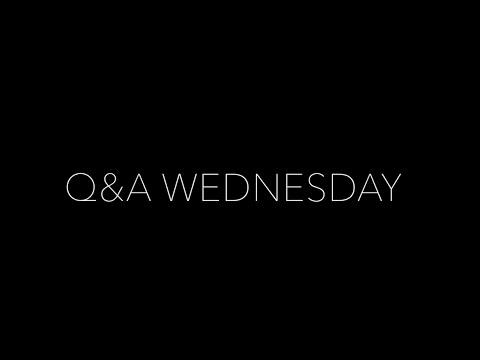 Q&A Wednesday! Life, Dream Car Garage & Luxury!