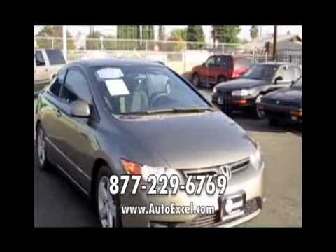 AutoExcel.com 2007 Honda Civic Coupe for sale in Los Angeles CA 4386