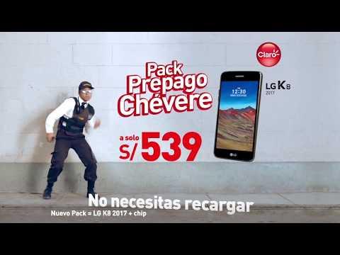 Pack Prepago Chévere | Claro Perú