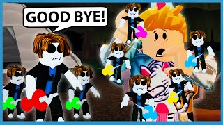 PLAYING WITH MY EVIL TWINS!!  Roblox Little Ones