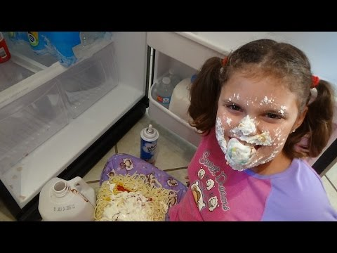 "Thumbnail: Bad Baby Victoria Makes Mess Spatula Girl vs Spider Attack ""Toy Freaks"""