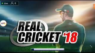 Real cricket 18 new update 1.9  live streaming
