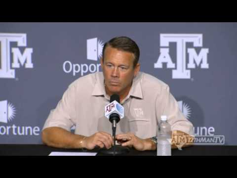Mark Snyder: 10-29 TAMU Weekly Press Conference