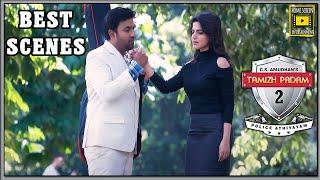 Tamizh Padam 2 Tamil Movie | Best Scenes part 01 | Shiva | Iswarya Menon | Sathish