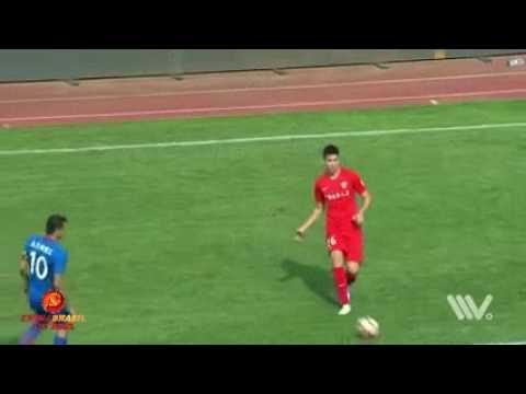 Gol Carlos Tevez - Yanbian Fude x Shanghai Shenhua - 14a rodada da Super Liga da China 2017