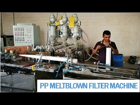 !Sell PP Water Filter Cartridge Making Machine from China || Supply Traing Abroad