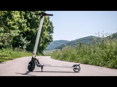 FLJ S3 Electric Carbon Fiber Scooter - testride
