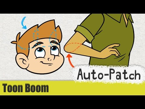 Toon Boom Harmony Tutorial #20 - Auto-patch