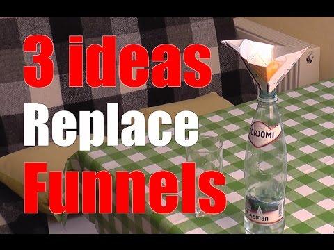 3 Makeshift funnels. Part 2