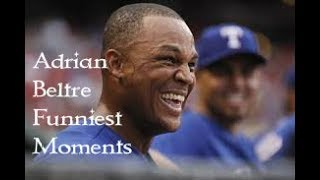 Adrian Beltre Best Attitude Moments