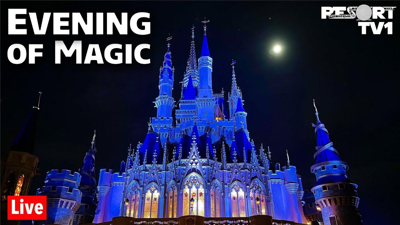 Download 🔴Live: An Evening of Magic at Disney's Magic Kingdom - Walt Disney World Live Stream - 9-18-21