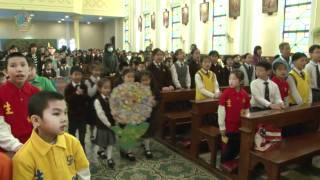 恭迎鮑思高神父聖髑來華-3月31日探訪學校